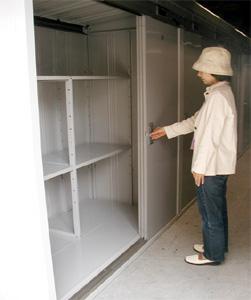 広島市のトランクルーム、使い方ーマイボックス24